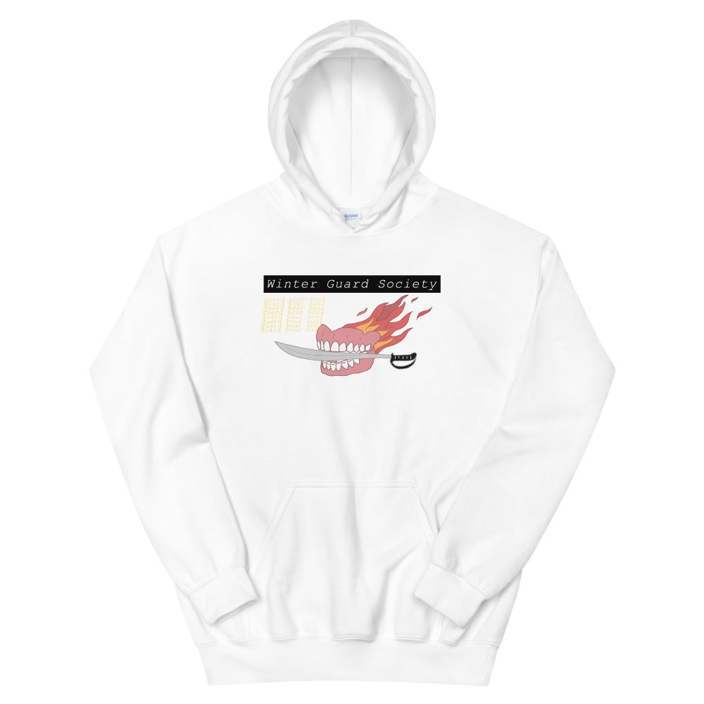 Winter Guard Saber Color Guard Unisex Hoodie-Marching Arts Merchandise-White-S-Marching Arts Merchandise