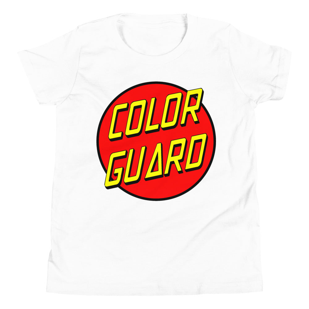 Color Cruz Youth Short Sleeve T-Shirt-Marching Arts Merchandise-White-L-Marching Arts Merchandise