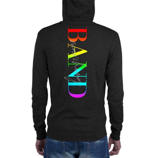 Marching Band Logo Pride Unisex Zip Hoodie - Marching Arts Merchandise -  - Marching Arts Merchandise - Marching Arts Merchandise - band percussion color guard clothing accessories home goods