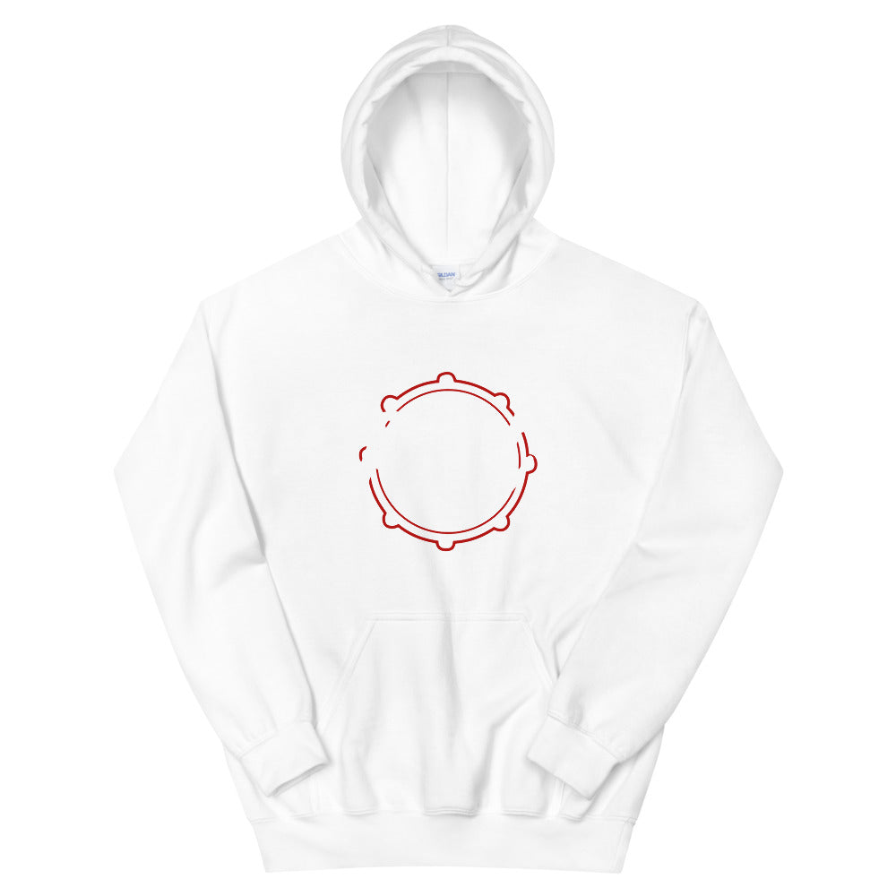 Rest Marching Band Unisex Hoodie-Marching Arts Merchandise-White-S-Marching Arts Merchandise