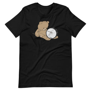 Teddy Bass Percussion Short-Sleeve Unisex T-Shirt-Marching Arts Merchandise-Black-XS-Marching Arts Merchandise