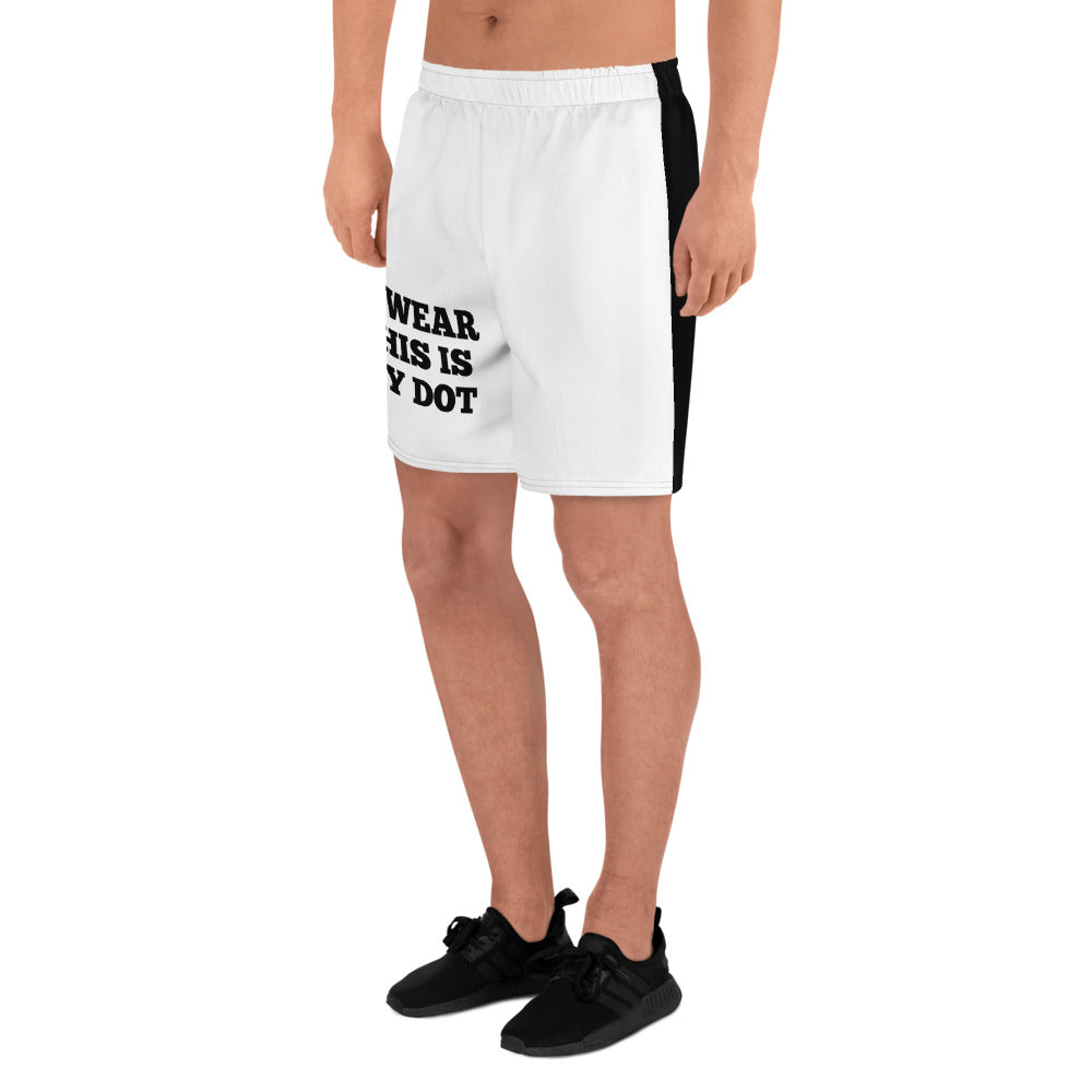My Dot Marching Band Men's Athletic Long Shorts-Shorts-Marching Arts Merchandise-Marching Arts Merchandise