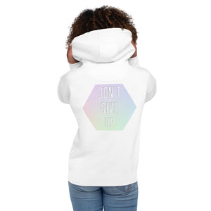 Don't Give Up Unisex Hoodie-Marching Arts Merchandise-S-Marching Arts Merchandise