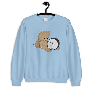 Teddy Bass Unisex Sweatshirt-Marching Arts Merchandise-Marching Arts Merchandise