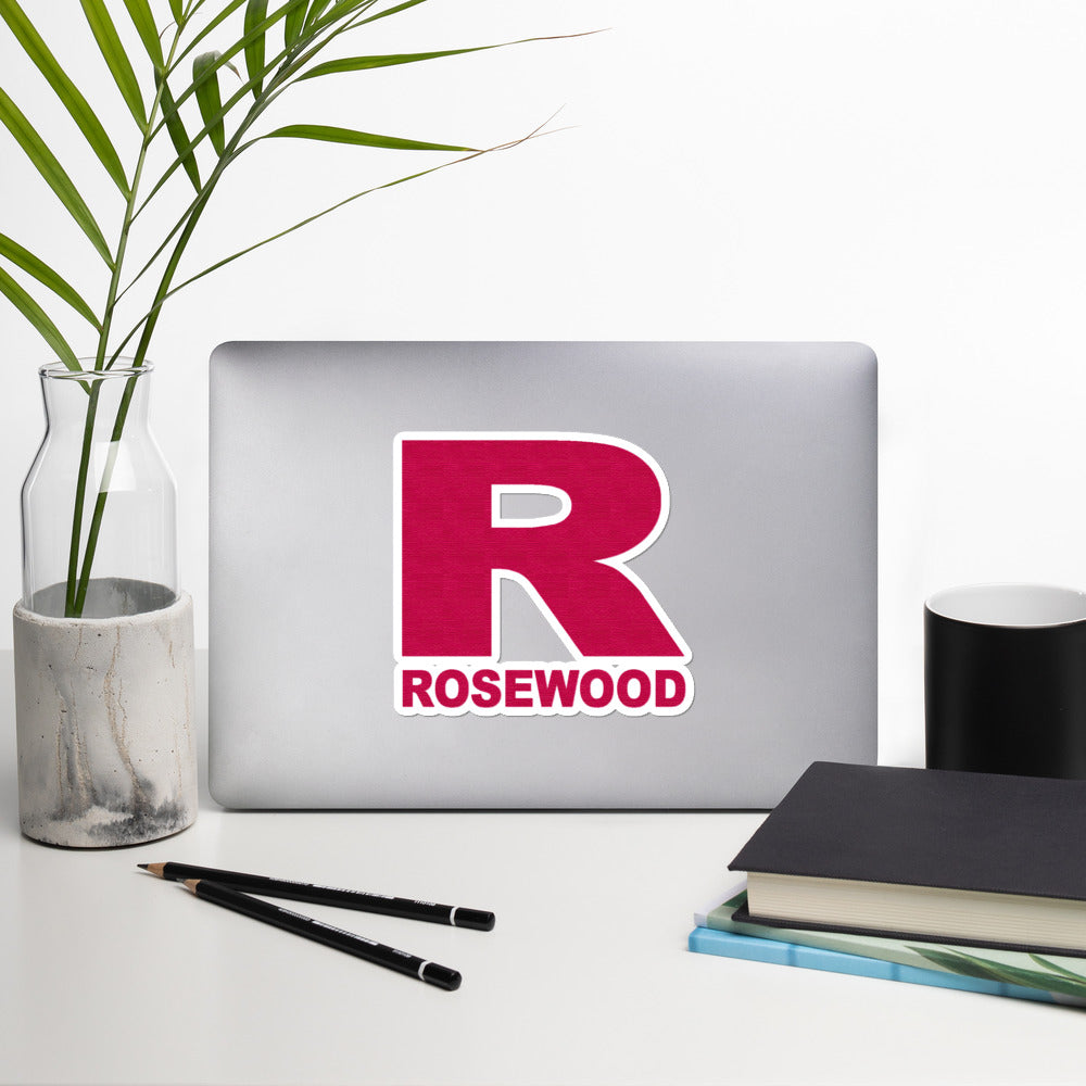 Rosewood Bubble-Free Stickers-Marching Arts Merchandise-Marching Arts Merchandise