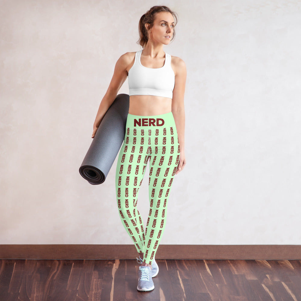 Nerd Yoga Leggings-Marching Arts Merchandise-Marching Arts Merchandise