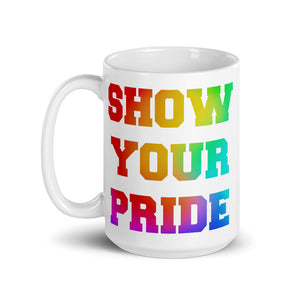 Show Your Pride Marching Band Mug-Mug-Marching Arts Merchandise-Marching Arts Merchandise