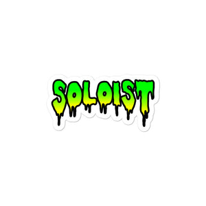 Soloist Bubble-Free Stickers-Marching Arts Merchandise-3x3-Marching Arts Merchandise
