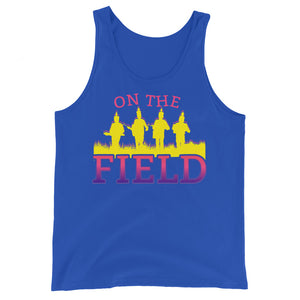 On The Field Marching Band Unisex Tank Top-Marching Arts Merchandise-True Royal-XS-Marching Arts Merchandise