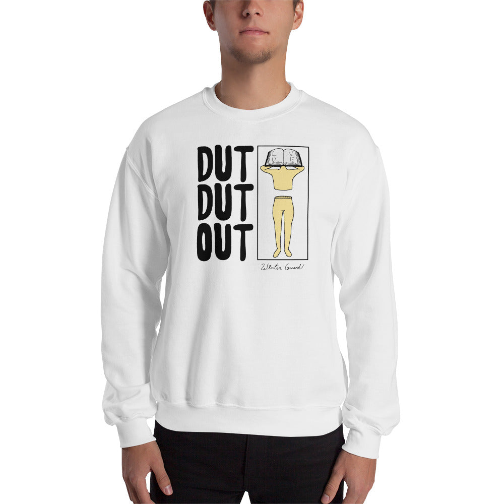 Love Dut Dut Out Color Guard Unisex Sweatshirt-Marching Arts Merchandise-Marching Arts Merchandise
