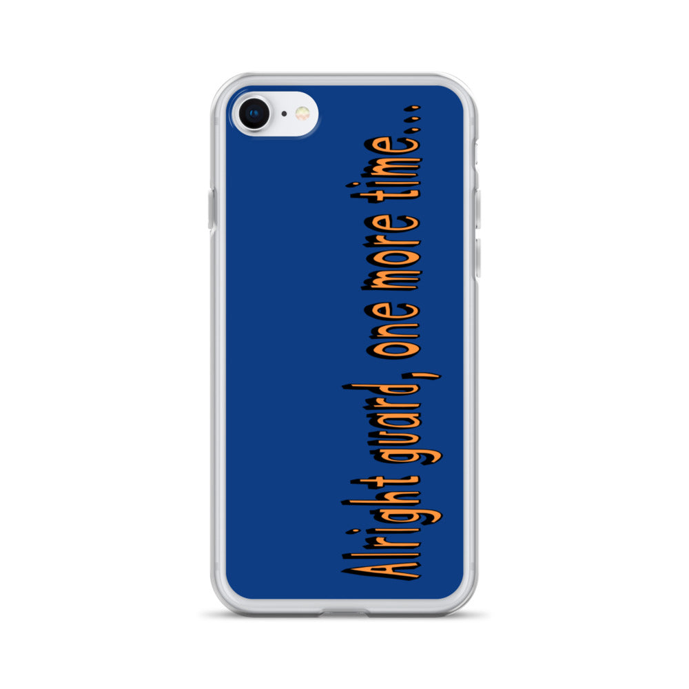 One More Time iPhone Case-Marching Arts Merchandise-iPhone 7/8-Marching Arts Merchandise