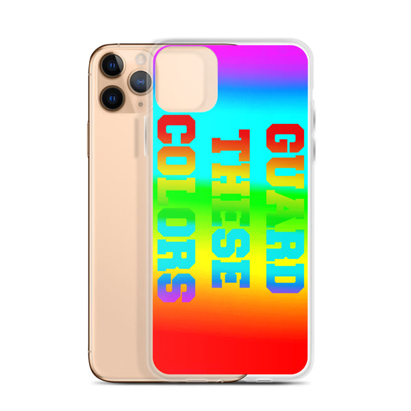 Guard These Colors iPhone Case - Marching Arts Merchandise -  - Marching Arts Merchandise - Marching Arts Merchandise - band percussion color guard clothing accessories home goods