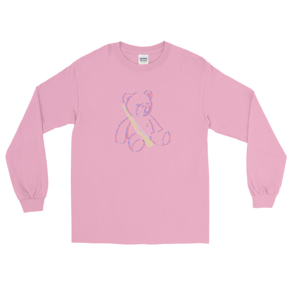 Teddy Rifle Color Guard Long Sleeve Shirt-Marching Arts Merchandise-Light Pink-S-Marching Arts Merchandise