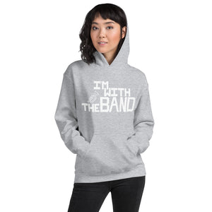 I'm With The Band Unisex Hoodie-Marching Arts Merchandise-S-Marching Arts Merchandise