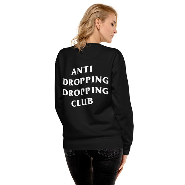 Anti Dropping Dropping Club Unisex Fleece Pullover - Marching Arts Merchandise -  - Marching Arts Merchandise - Marching Arts Merchandise - band percussion color guard clothing accessories home goods