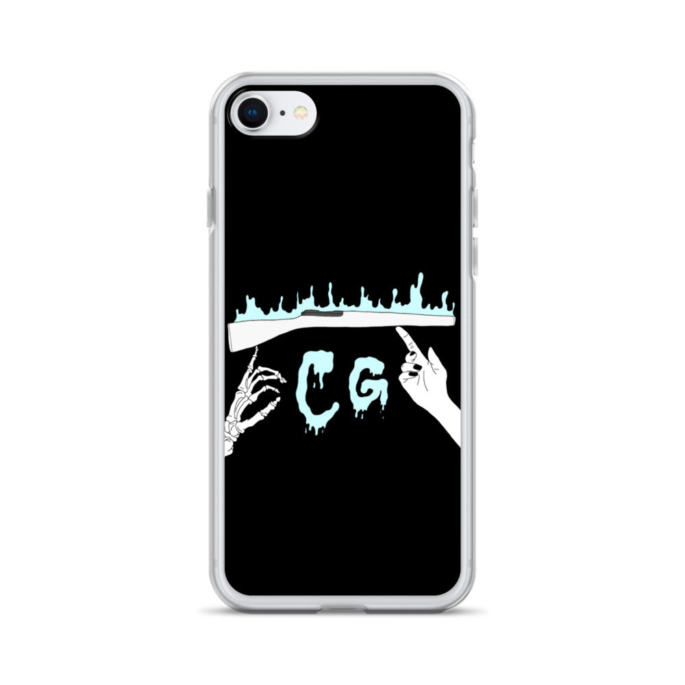 Rifle On Fire iPhone Case-Marching Arts Merchandise-iPhone SE-Marching Arts Merchandise