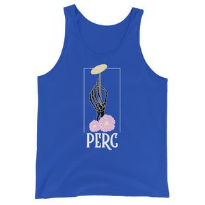 Skeleton Cymbal Percussion Unisex Tank Top-Marching Arts Merchandise-True Royal-XS-Marching Arts Merchandise