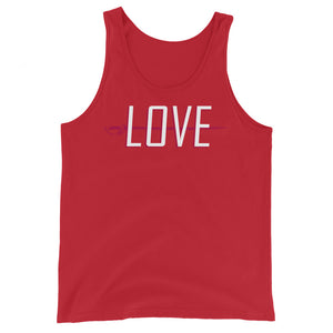 Love Color Guard Unisex Tank Top-Marching Arts Merchandise-Red-XS-Marching Arts Merchandise