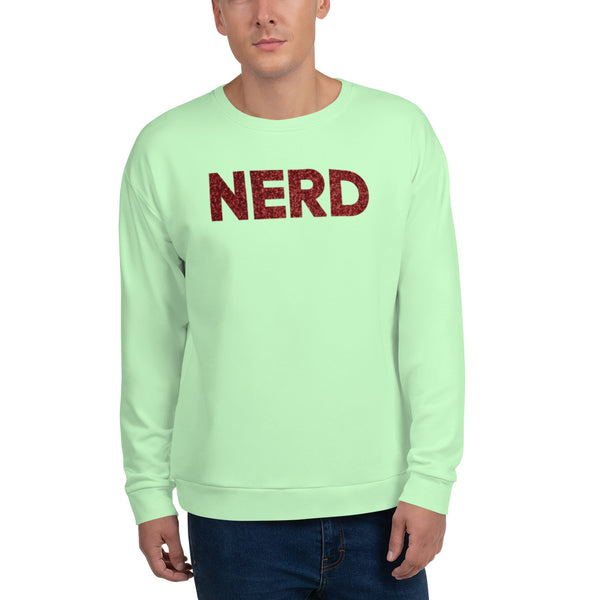 Nerd Unisex Sweatshirt - Marching Arts Merchandise -  - Marching Arts Merchandise - Marching Arts Merchandise - band percussion color guard clothing accessories home goods