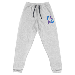 Flag Block Unisex Joggers-Marching Arts Merchandise-Athletic Heather-S-Marching Arts Merchandise