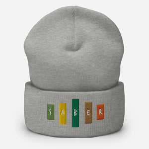 Retro Saber Cuffed Beanie-Marching Arts Merchandise-Marching Arts Merchandise