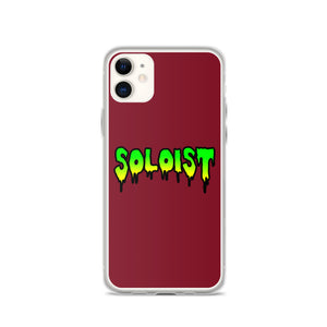 Soloist iPhone Case-Marching Arts Merchandise-iPhone 11-Marching Arts Merchandise