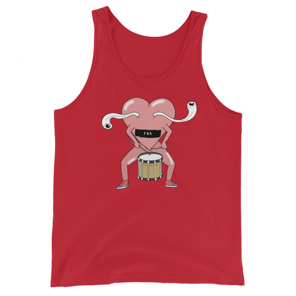 Love Snare Percussion Unisex Tank Top-Marching Arts Merchandise-Red-XS-Marching Arts Merchandise