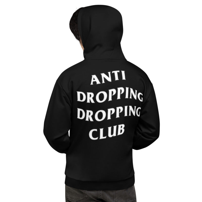 Anti Dropping Dropping Club Color Guard Unisex Hoodie-Hoodie-Marching Arts Merchandise-Marching Arts Merchandise