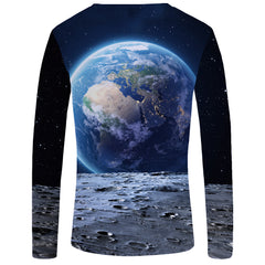 Long Sleeve Punk Gothic T-shirt