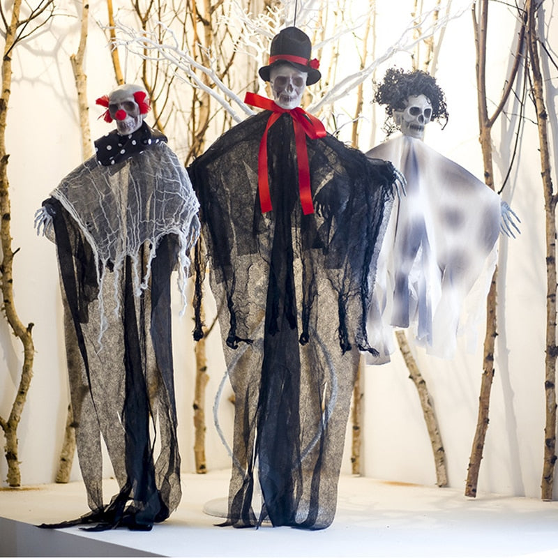 Ghost Haunted Decorations Clothes