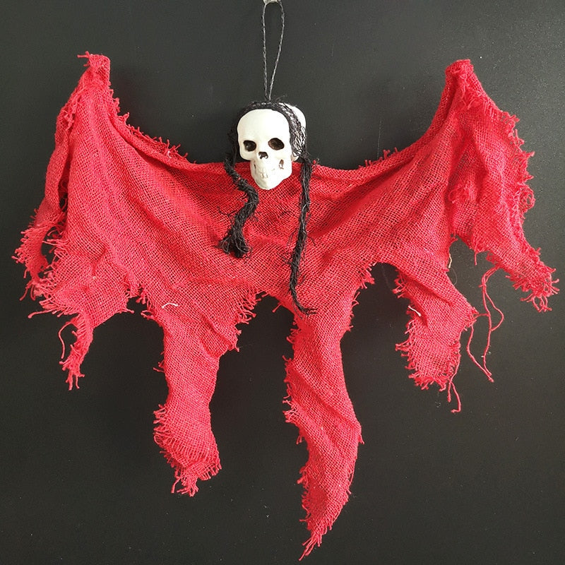Corpse Skull Haunted Cloth Decor