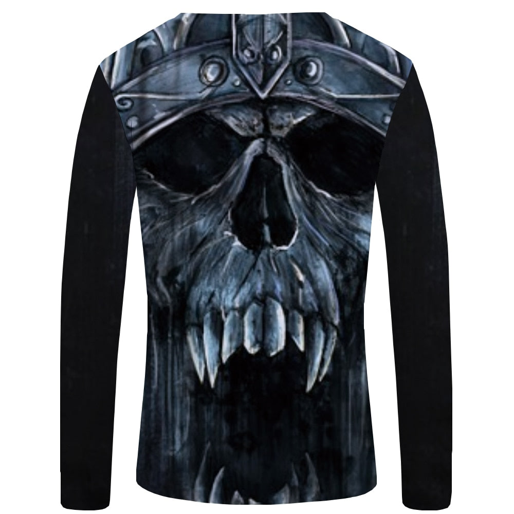 Pirate Graphic Skull Printed Tshirt