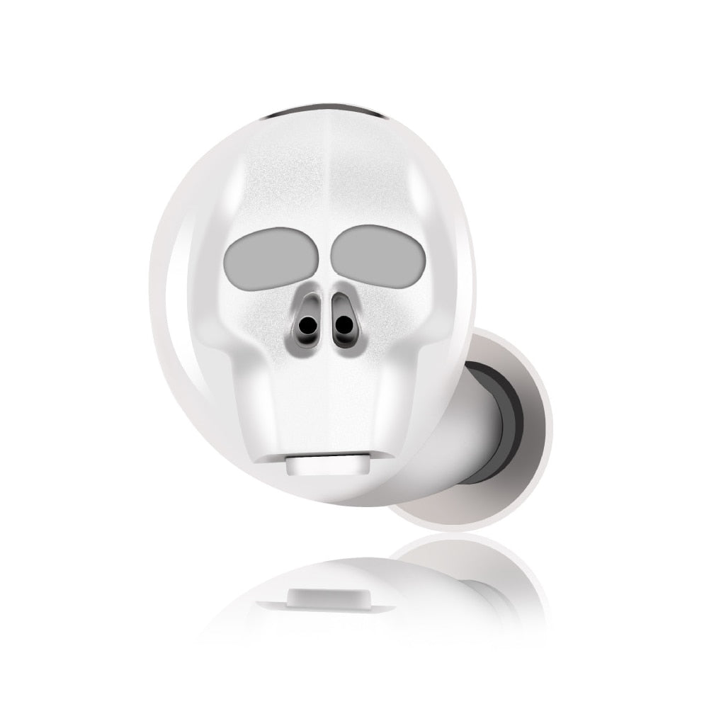 LED Wireless Outdoor Skull Earphone