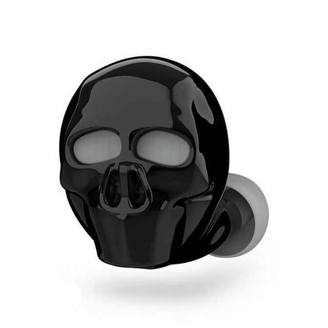 Bluetooth Cool Skull Bone Wireless Earphone