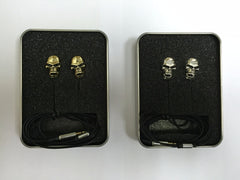 Earbuds Stereo Metal Skull Earphone