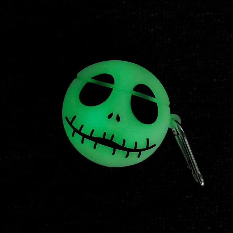 3D Luminous Skull Funda Airpods