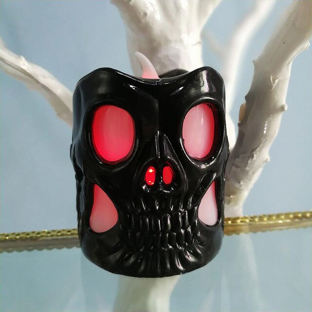 Candle Lamp Skull Heads LED Lighting