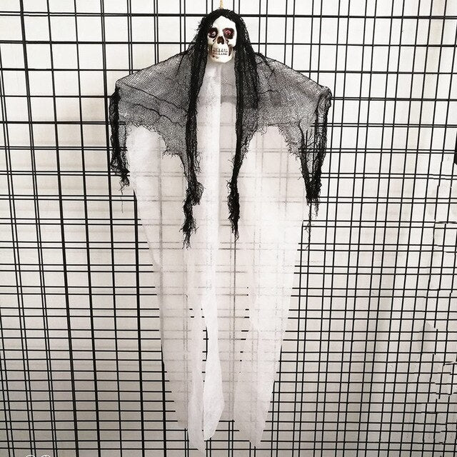 Skull Hanging Ghost Decor Cloth