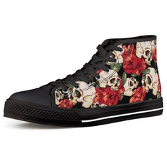 Cool Sugar Skull Printed Shoes