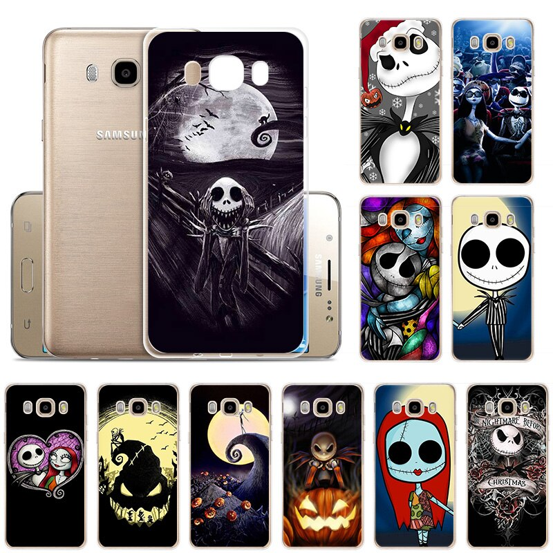 Jack Sally Nightmare Soft Silicone phone Case for Samsung J82018 J7Prime J7 J6 J52017EU J4Plus J32016 J2 Before Christmas cover