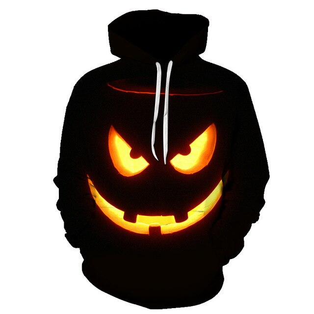 BZPOVB sweatshirts men's and women's 3d printed jack Sally hip hop hoodie fall/winter jacket