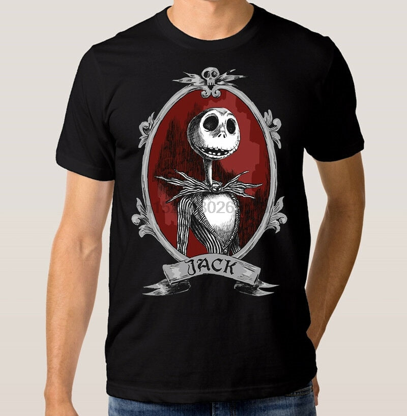 The Nightmare Before Christmas Jack Art T-shirt Mens Womens All Sizes