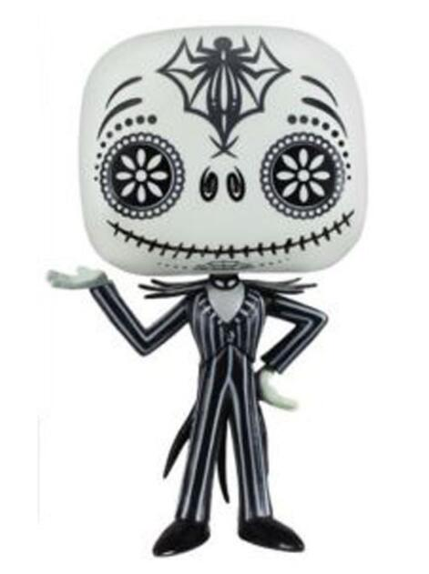 Jack Skellington Special Color The Nightmare Before Christmas Vinyl Doll Figure Toys 10cm