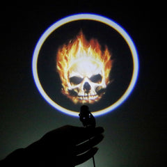 Ghost Rider Skull Motorcycle Rear Light