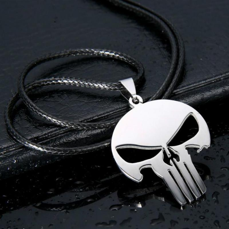 Punishment Skull Dark Knight Chain