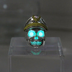Glowing Luminous World War Ring