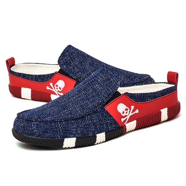 Slip-on Platform Skull Shoes