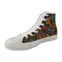 Nopersonality Sugar Skull Print Shoes