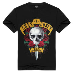 Guns And Rose Nightrian Design T-Shirt