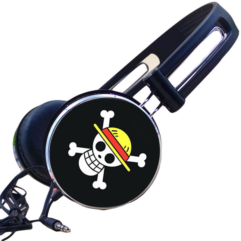Strawhat Gaming Skull Headphones
